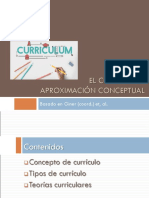 Aproximación Conceptual Al Curriculum