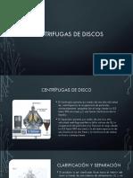 centrifugas de disco