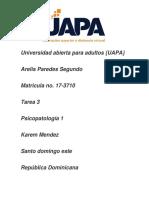 Tarea 3 de Psicopatologia 1 (Autoguardado)