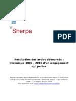 Chronique BMA-Sherpa CCFD-Terre Solidaire 2010