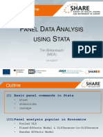 Panel Data Analysis Using Stata Birkenbach