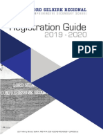 OFFICIAL 2019-2020 Registration guide