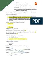 Cuestionario de Bioquímica