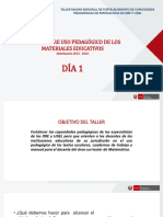 2. Presentación de materiales  educativos MATEMÁTICA_día 1.pptx