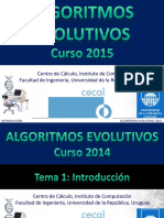 Algoritmos Evolutivos FING-UDELAR clase 01 2015
