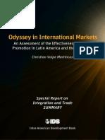 Odyssey in International Markets