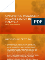powerpoint on optometry research paper
