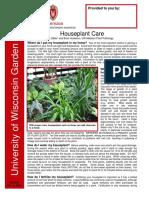 Houseplant Care 0