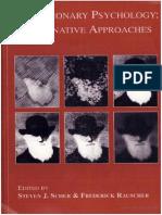 Epdf.pub Evolutionary Psychology Alternative Approaches