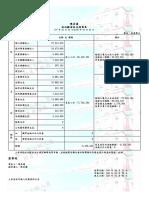 2018年高雄市長選舉政治獻金申報會計報告書。(取自政治獻金公開查閱平台)