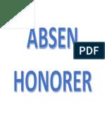 Absen Nama