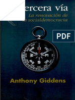Giddens, Anthony - La Tercera Vía