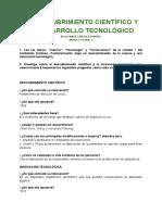 EL DESCUBRIMIENTO CIENTÍFICO Y EL DESARROLLO TECNOLÓGICO.pdf