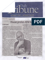 Daily Tribune, Aug. 14, 2019, House probes ATM fees.pdf