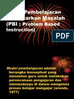 Model Pembelajaran MASALAH.ppt