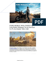 Pubg Mobile Wallpaper Hd