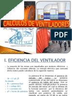 CALCULO DE VENTILADORES DE MINA