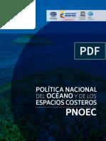 Política Nacional Del Océano y Los Espacios Costeros - PNOEC