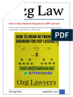 How to Draw Network Diagram for OSP License - Ozg India