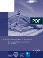 Sustainable Documentation in Archaeology_2014