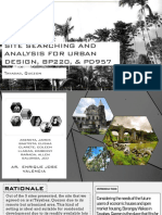 Site Analysis & Rationale - d7 - Salonga and Company