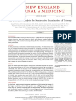Cell-free DNA Analysis for Noninvasive Examination of Trisomy