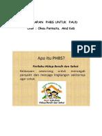 phbs PAUD