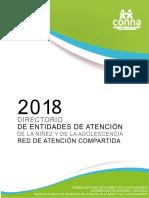 Directorio Entidades de Atencion Feb 2018