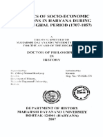 Dynamics of Socio Economic Conditions in Haryana During Later Mughal Period 1707 to 1857 (1)