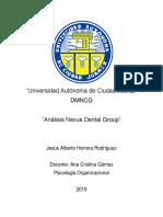 Analisis Psicologia Organizacional Jesús NEXUS GROUP