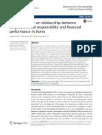 Empirical Study on CSR and FP