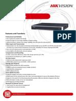 Datasheet of DS 7600NI I2