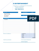 Copy of Billing-Invoice-template Service