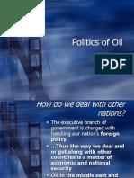 Politics of Oil