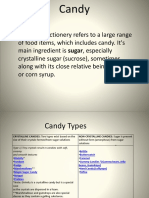 Candy Processing