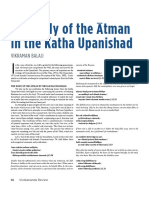 The Body of the Atman in the Katha Upanishad