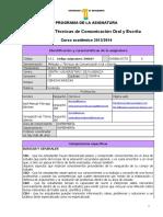 Metodos y Tecnicas de Comunicacion Oral y Escrita