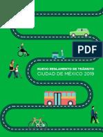 Nuevo Reglamento de Transito Cdmx 2019