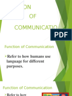 FUNCTION&Communication