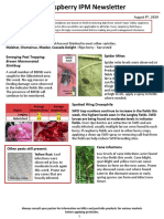 Raspberry IPM Newsletter - August 9, 2019