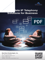 New Rock Products Catalog- VoIP Solution Provider