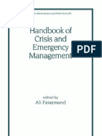Handbook of Crisis and Emergency Management
