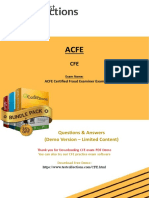 CFE Exam Details for Beginners