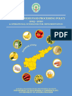 AP Food Processing Policy