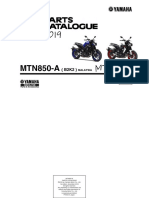 Parts Catalogue -Yamaha MT 09