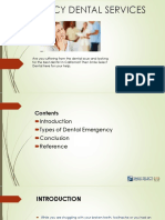 Emergency Dental Services in California- Smile Select Dental