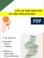 2. Crops by Region