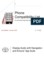 En Tune Phone Compatibility List