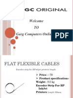 Top Quality of Flat Flexible Cables for your Printer |Garg Computers