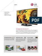 42LN5400 Spec Sheet TV LG 42 Inch.pdf
